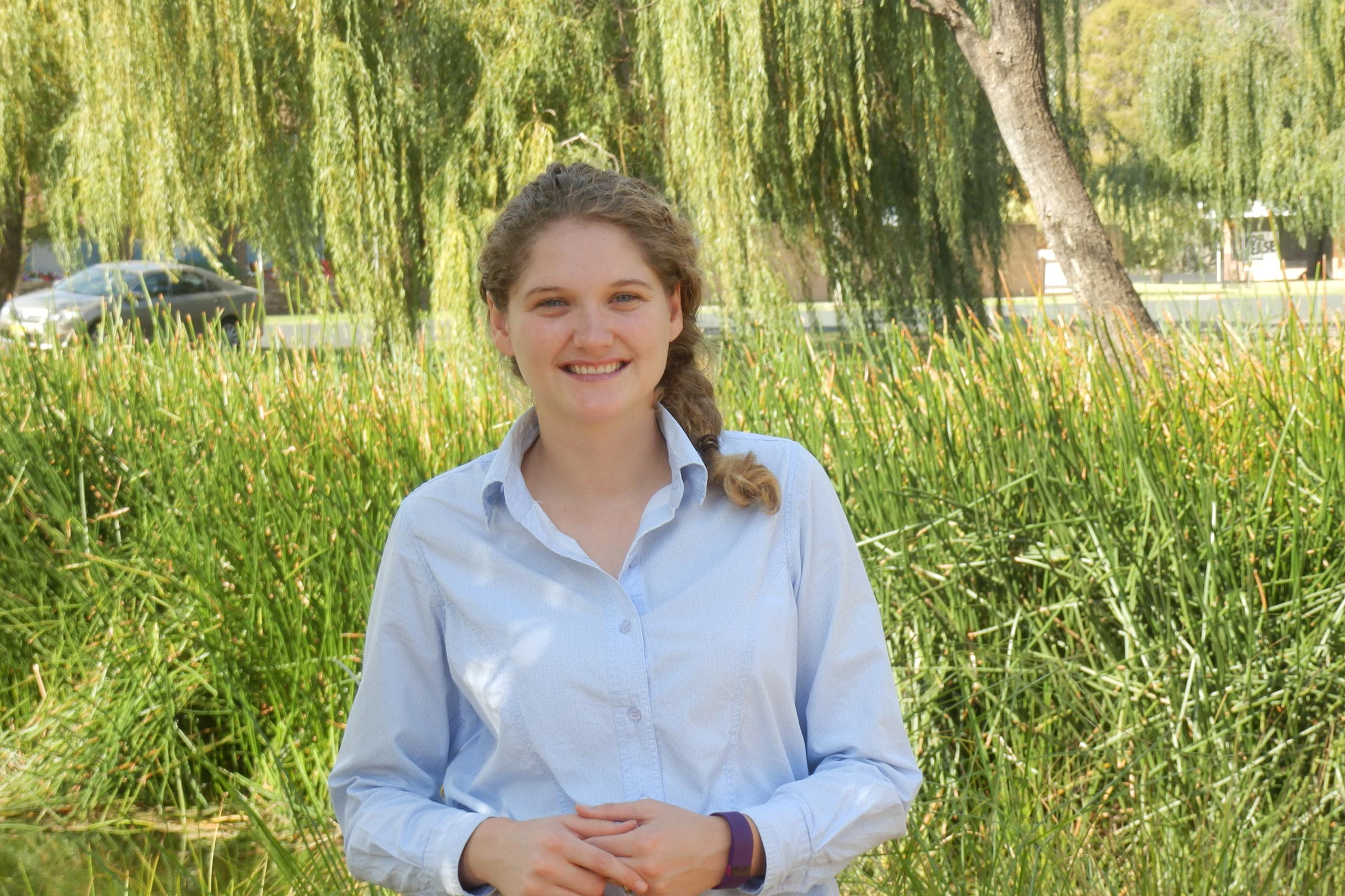 Erika Heffer graduated from the Bachelor of Agriculture Science.