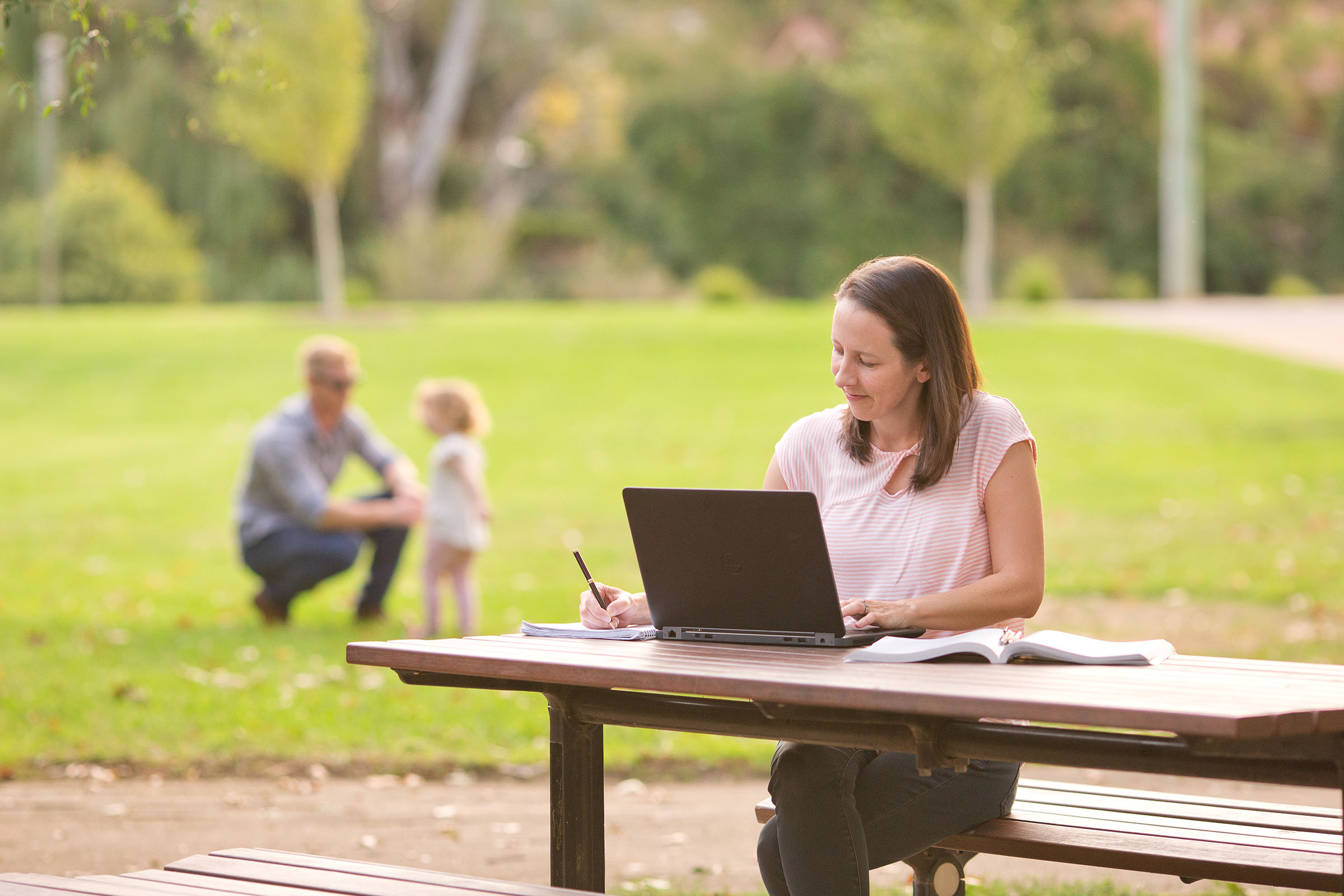 8 tips to help parents balance work, family and study.