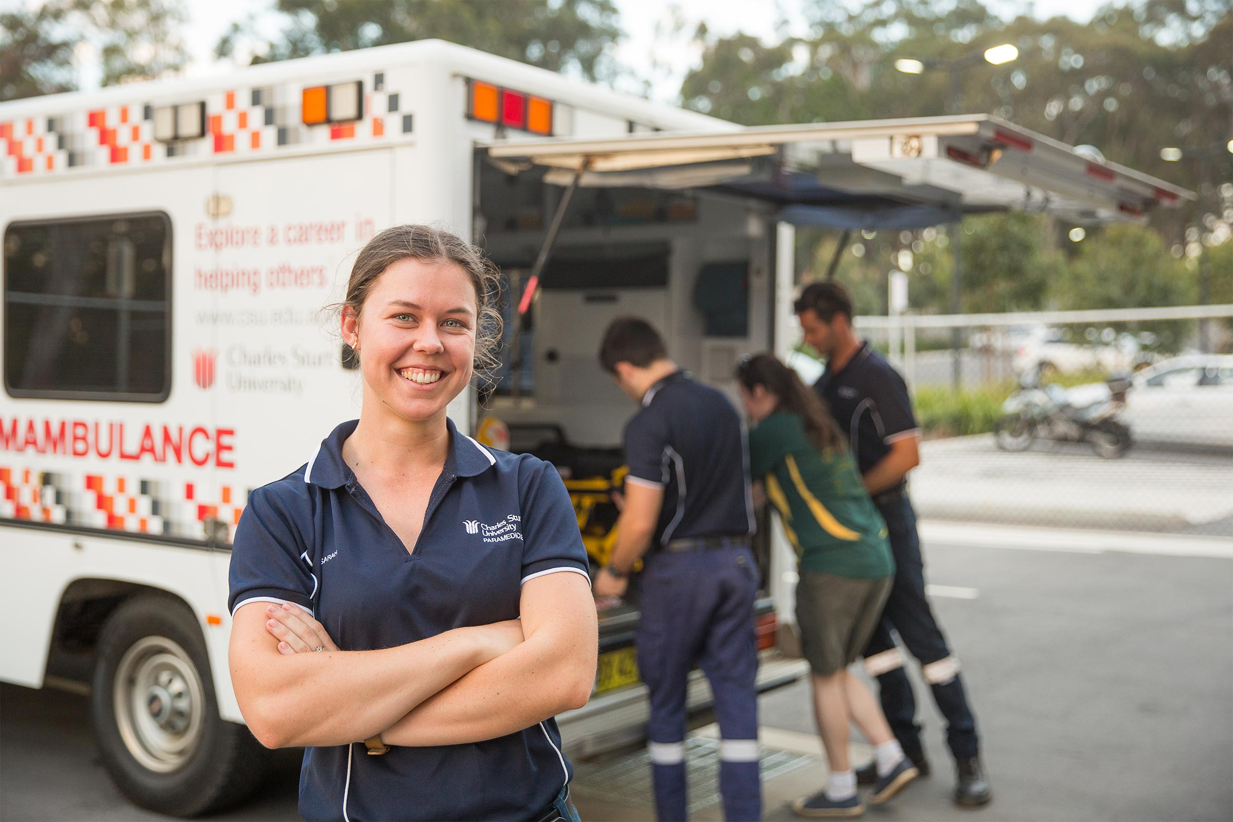 Make your mark with paramedicine