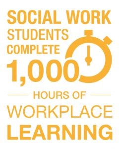 social work workplace learning