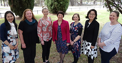 CSU speech pathology research team