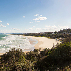 Port Macquarie beach near Charles Sturt University